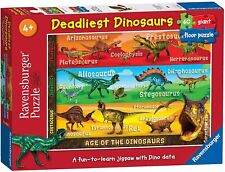 Ravensburger Deadliest Dinosaurs 60 piece Jigsaw Puzzle