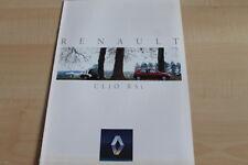 115896) Renault Clio A RSi Prospekt 03/1993