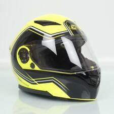 Casque moto modulable One Outline 2.0 jaune noir homme femme Taille XS 54cm Neuf
