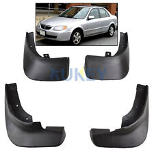 4Pc Fit FOR 98-03 Mazda Protege 323 MUDGUARDS MUD FLAP SPLASH GUARDS MUDFLAPS