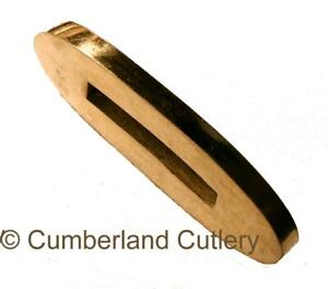 Brass Finger Guard  for Knife Making Blade Blank