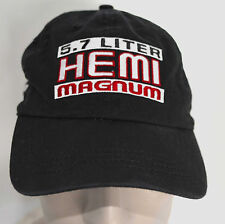 Mens Hat Alexander Dodge 5.7L Hemi Magnum Ram Truck Baseball Cap Lid Black Adj
