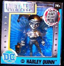 JADA Toys HARLEY QUINN DC Comic Metal Die Cast Action Figure RARE SILVER VERSION