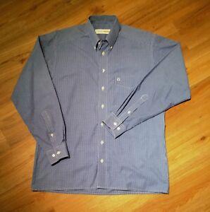 Olymp Luxor Trachten Herren Hemd Blau Kariert 40 15 3/4, Regular, 100% Baumwolle