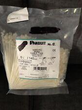 Panduit  1000 Piece STA -Strap Cable Ties Natural SST1.5M-M