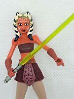 "Star Wars AHSOKA TANO 3.75"" Figure Padawan with Rotta the Hutlet CW9 No. 9"