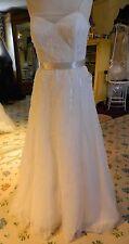 Watters Sample Wedding Gown #3026 sz 10