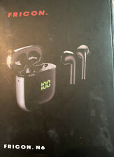 Fricon N6 Wireless Earbuds 5.0 Touch Control Bluetooth Headphones with Charging