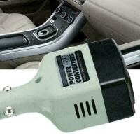 12V 24V DC to AC 220V Portable Car Power Inverter Adapter Plugs Converter + H8Z4