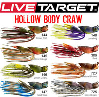 Topwater Frog 2.5in 1//2oz Zoom Hollow Belly Jr Select Colors