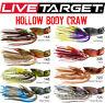 """Live Target Hollow Body Craw Jig 3/8 oz. 1.5"""" (Various Colors)"""