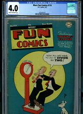 More Fun Comics #119 CGC 4.0 1947 Golden Age DC Comic  K28