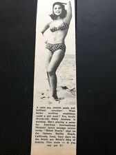 66-1 Ephemera 1965 Picture Actress Mikki Jamison Bikini Beach Film Star