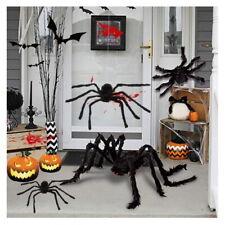 Black Spider Halloween Decoration Haunted House Prop Indoor Outdoor Panic Funny