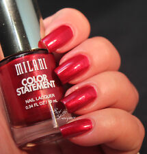 NEW! Milani Color STatement Nail Polish lacquer in RUBY STONE ~ RED Shimmer