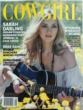 Cowgirl July August 2017 Sarah Darling Dream Country Songbird FREE SHIPPING sb