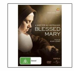 Blessed Mary (DVD) Mary MacKillop..HOSTED BY ALAN JONES..REG 4..NEW & SEALED  V9