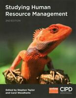 Studying Human Resource Management by Stephen Taylor 9781843984153 | Brand New
