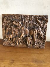 Latex mould for making this lovely Elephant Plaque