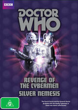 Doctor Who Revenge Of The Cybermen And Silver Nemesis (DVD,2010) NEW+SEALED
