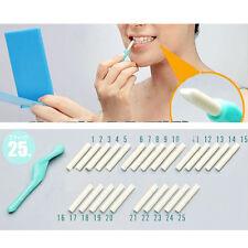 New set Teeth Tooth Dental Peeling Stick + 25 Pc Eraser