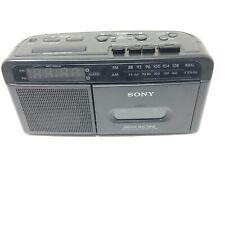 Sony Dream Machine ICF C610 AM FM Radio Cassette Tape Player Alarm Clock Refurb.