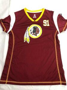 NFL Washington Redskins Girls Fashion Jersey - Kerrigan - NWT - L - Red - C379