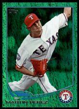 2013 Topps Update Emerald Green Martin Perez Texas Rangers #US69