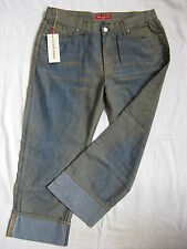 Miss Sixty Blue Jeans 7/8el Luxury Denim W28/L28 regular fit low waist ankle leg