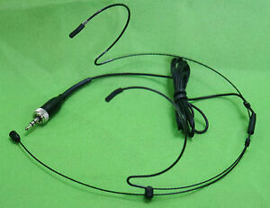 Pro Headset Headworn Microphone For Sennheiser  Black Omnidirectional Mic