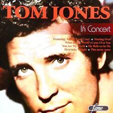 Tom Jones in Concert by Tom Jones (CD) LIKE NEW!