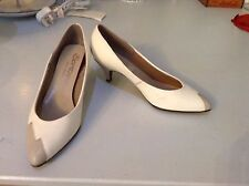 Disco Leather 1980s Vintage Shoes for Women