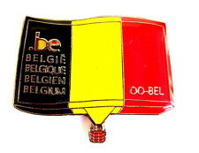 "BALLON ""SPECIAL SHAPE"" Pin / Pins - MESSENGER FROM BELGIUM / OO-BEL [3617]"