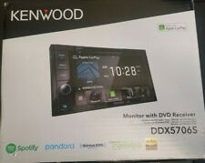 """New listing Kenwood Ddx5706S 2Din 6.2"""" Double Din Apple CarPlay Multimedia Receiver New"""