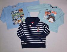Baby Jungen 3tlg. Pullover La.Shirt Set Gr.62