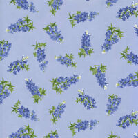 Moda Quilt Fabric Best of Texas by Sara Khammash by half-yard 11245 15 Blue