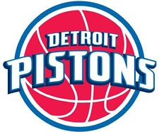 12 STIKERS DETROIT PISTONS NBA Vinyl HQ Decal Stickers CAR Laptop WALL Suitcase