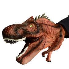 Realistic Dinosaur Hand Puppet Allosaurus Glove Role Play Kids Toy Birthday Gift