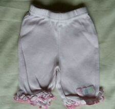 BABY GIRLS PINK SOFT COTTON TROUSERS NEWBORN BABY 7.5LBS 3.5KG  BHS