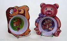 Kinderschale Müslischale Breitschale von Top Star Löwe & Teddy Durchmesser 11 cm