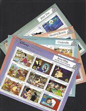Grenada sc#1540-5 (1987) Sheets of 9 MNH