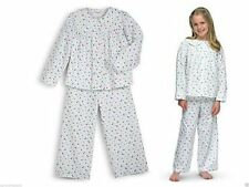 American Girl Doll Emily's Pajamas for Med Girls Heavy Flannel Size M 10-12