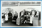 "1941 Ford Parts Showroom Dealer 12 By 18"" Black & White Picture"