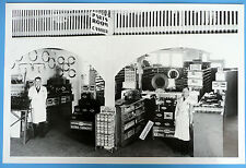 """12 By 18"""" Black & White Picture 1941 Ford  Dealer Parts Showroom"""