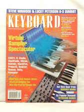 Keyboard Magazine Back Issue Virtual Sampler Spectacular Steve Winwood Peterson