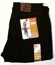 New Wrangler Five Star Men's Relaxed Fit Jeans Black Denim Color All Sizes