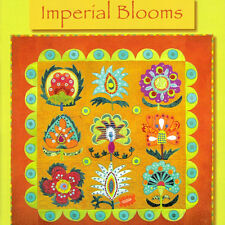 IMPERIAL BLOOMS Sue Spargo NEW BOOK Applique Embroidery Quilt Suzani Textiles