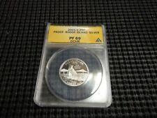 2001-S Silver 25c ANACS PF-69 Rhode Island Quarter DCAM
