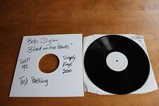 Bob Dylan - UK LP Test Pressing Simply Vinyl / Blood on the Tracks SVLP192
