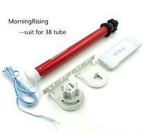 MorningRising 12V DIY Electric Roller Blind / Shade Tubular 25mm Motor Kit & Rem